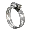 SS300 Stainless Steel Worm Drive Hose Clamps 9/16""